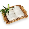 bambusová osuška 70x140 cm krémová