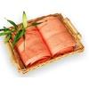 bambusová osuška 70x140 cm lososová