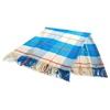 Vlněná deka ROMA 130x170 cm modrá