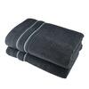 Osuška STRIPE šedá 70x140 cm