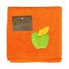 Utěrka VALENTINI s výšivkou ovoce oranžová