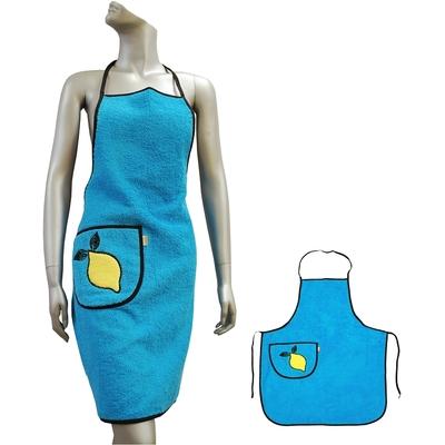 Kuchyňská zástěra VALENTINI modrá