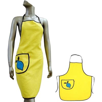 Kuchyňská zástěra VALENTINI žlutá