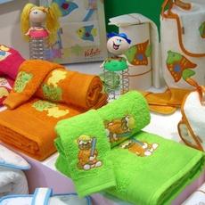 Dětský set ručníku a osušky