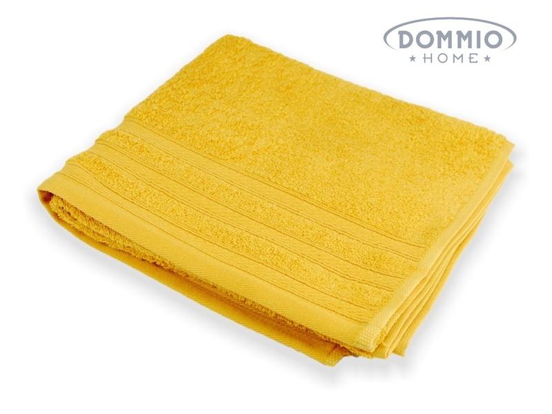 UNI ručník 50x90 cm žlutý