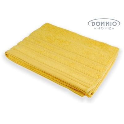 UNI osuška 70x130 cm žlutá